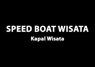 Speed Boat Wisata